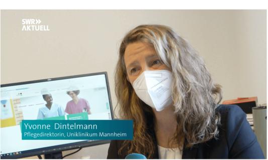 Yvonne Dintelmann - Pflegedirektorin der UMM